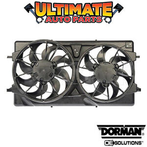 Radiator Cooling Fan 2 0l Supercharged For 04 07 Saturn Ion red Line