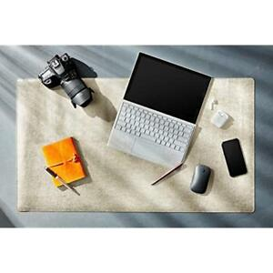 Desk Mat Protector 26 X 15 5 Pu Leather Pad Blotter Mouse Accessories With