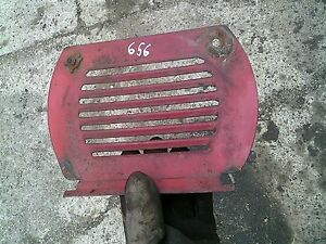 International 656 756 856 Tractor Orgl Ih Front Hood Air Vent Cover Panel