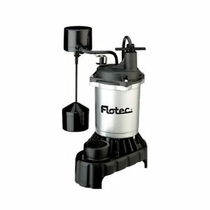 Flotec Fpci5050 Submersible Sump Pump Vertical Switch 1 2hp