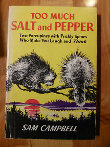 Too Much Salt and Pepper by Sam Campbell 1944 Pacific Press Publishing SDA