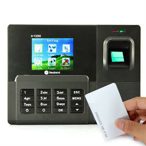 Realand A c030t Fingerprint Time Attendance Clock Id Card tcp ip usb 200mhz Cpu
