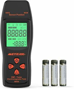 Meterk Emf Meter Electromagnetic Field Radiation Detector Handheld Mini Digital