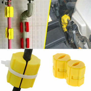 2pcs Universal Magnetic Gas Fuel Power Saver For Car Vehicle Reduce Emission