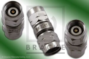 2 4mm Male To 2 4mm Male Adapter max Vswr 1 30 1 50 Ghz Brace Bm50285