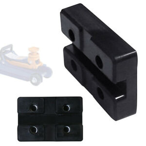 Car Slotted Frame Lift Rubber Pad Rail Floor Trolley Jack Guard Adapter Lifting