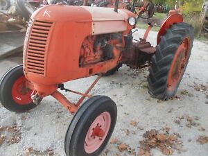Coop Co Op E3 E 3 Tractor Wide Frontend Hitch Good Grill Hood Firestone Tires