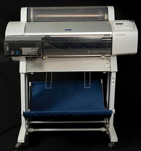 Epson Stylus Pro 7600 Large Format Printer With Stand local Pickup