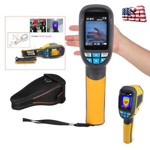 Ht 02d Handheld Ir Infrared Thermal Imaging Camera Thermometer 20 To 300