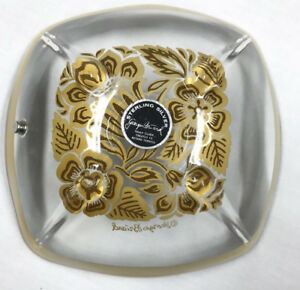 Georges Briard Sterling Silver Candy Bowl Trinket Dish Signed