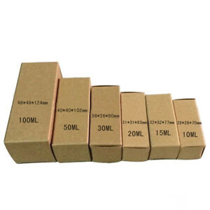Kraft Paper Package Boxes For Essential Oil Cosmetic Lipstick Christmas Gift Box