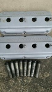 Chrysler Fire Power 331 354 392 Hemi Valve Covers Hemi Spark Plug Tubes