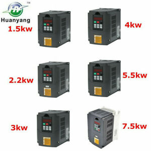7 5kw 5 5kw 2 2kw 4kw 3kw 1 5kw Vfd Variable Frequency Drive Inverter