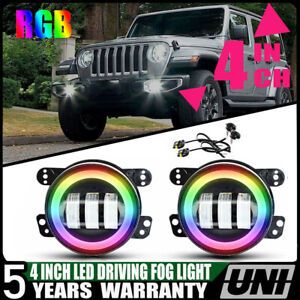 For Hummer H2 2000 2009 30w 4 Inch Led Driving Fog Light Bumper Lamps 6000k Ip68