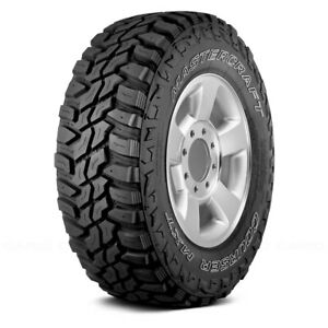 Mastercraft Set Of 4 Tires Lt305 65r17 Q Courser Mxt