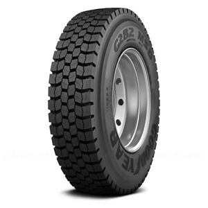 Goodyear Set Of 4 Tires 42x11r22 5 L G282 Msd All Season Commercial hd