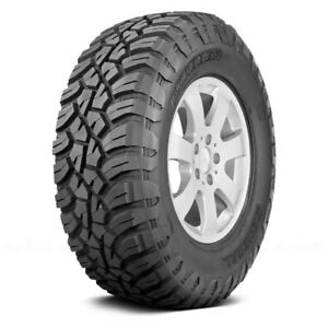 General Set Of 4 Tires 35x12 5r17 Q Grabber X3 All Terrain Off Road Mud
