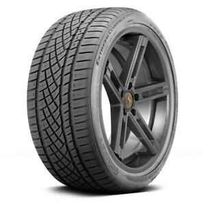 Continental Set Of 4 Tires 235 45r17 W Extremecontact Dws06 Performance