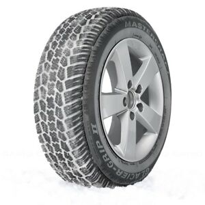 Mastercraft Set Of 4 Tires 185 70r14 S Glacier Grip Ii Winter Snow