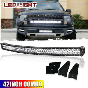 42 2880w Curved Cree Led Light Bar Truck For Dodge Ram 1500 2500 3500
