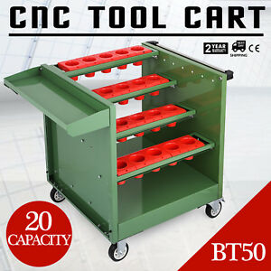 Bt50 Cnc Tool Trolley Cart Holders Toolscoot Rolling Utility Super Scoot