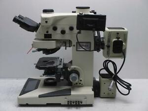 Nikon Microphot fxa Fluorescence Research Microscope W Eyepieces Cameras Lamps