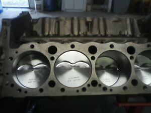 Chevy Small Block Engine Blueprinted Fresh 355 Short Block 4 Bolt Main Parts