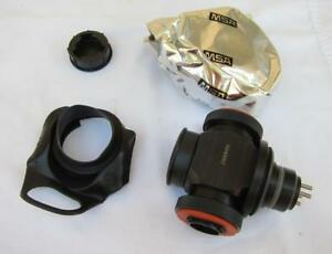 Msa Apr Gas Mask Respirator Adapter Assembly W Filter For Ultra Elite