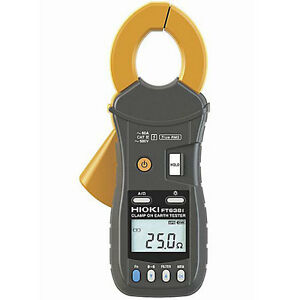 Hioki Ft6381 60a Clamp on Earth Resistance Tester W bluetooth Wireless
