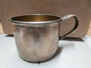 Antique Sterling Silver Baby Cup By Wee Folks Name Gary F10 Free Shipping Lwd2