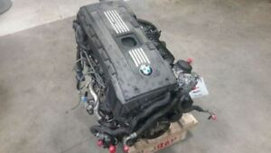 Engine 08 09 Bmw 535i 3 0l Twin Turbo I Rwd Thru 12 08 14173