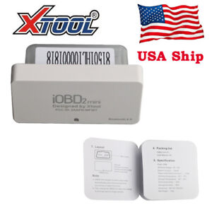 Usa Ship Xtool Iobd2 Mini Bluetooth 4 0 Diagnostic Scanner Support Ios Android
