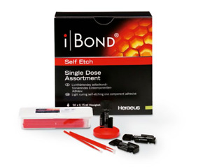 Kulzer Ibond Self Etch 50 Single Doses Bonding Agent 66046244 Exp 1 2019