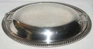 Vintage Reed Barton Silverplate Covered Vegetable Casserole Serving Dish