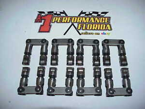 16 Crower Cams Straight Up Centered Solid Roller Lifters 842 For Sb Chevy Comp