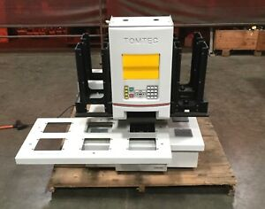 Tomtec Quadra 3 300 207 Series Liquid Handler Workstation Powers On