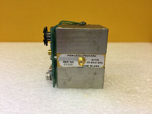 Hp Agilent 5086 7441 0 01 To 20 Ghz Sma f Sytm Yig Tuned Mixer Tested