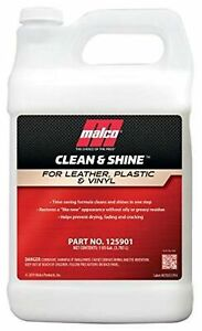 Malco Clean Shine Interior Car Cleaner And Dressing Restore Leather Plas