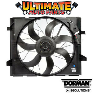 Radiator Cooling Fan W Controller For 11 13 Grand Cherokee Heavy Duty Cooling