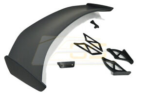 Gt4 Extended Style Rear Trunk Wing Spoiler For 13 16 Porsche 981 Cayman Boxster
