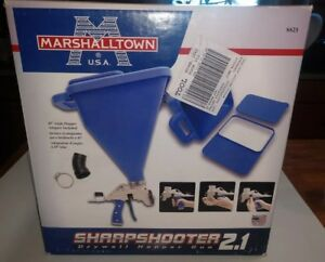 Marshalltown Sharpshooter 2 1 Drywall Texture Hopper Spray Gun new Sharpshooter