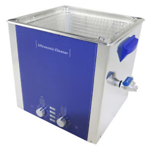 15l Degas Sweep Heated Ultrasonic Cleaner Industrial Cleaning Machine Dr ds150