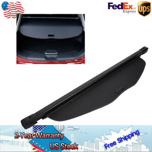 Top Retractable Car Snap on Cargo Cover Security Shield Fit Nissan Rogue