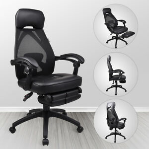 Office Gaming Chair High Back Mesh Ergonomic Computer Adjustable Recliner Seat