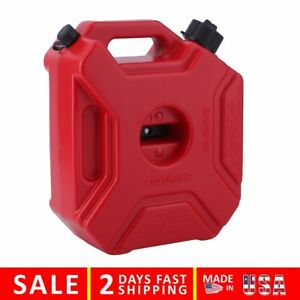 5l 1 3 Gallon Fuel Pack Gas Jerry Can Spare Fuel Container Off Road Vi