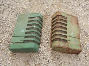 John Deere B Styled Tractor Orignl Jd Front Nose Cone Grill Hood Panel Panels B2