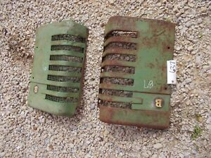 John Deere B Styled Tractor Orignl Jd Front Nose Cone Grill Hood Panel Panels B7