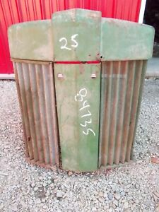 John Deere 70 Tractor Orgnl Factory Jd Front Nose Cone Grill W Screen Screens