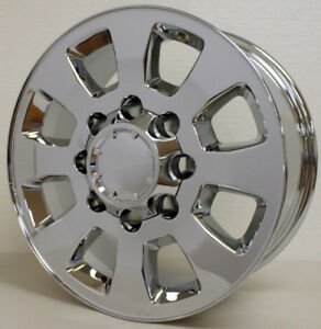 2011 2019 Gmc Sierra 2500 18 Chrome 8 Lug Wheels Rims 3500 Hd 8 180