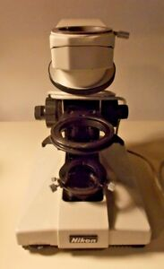 Nikon Labophot Microscope Body Turret